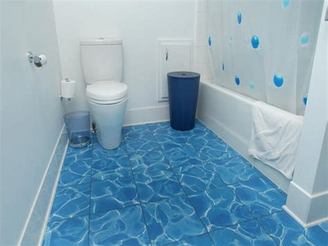 Small Bathroom Floor Covering Ideas