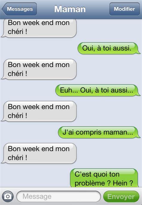 texte pour un pote les sms insolites d une maman pour fils blagues humour lol 4 fans