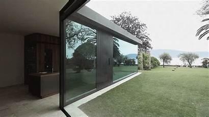 Villa Glass Walls Floor Italian Disappear Into