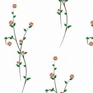 Flower Vines :: Nature :: Chic Shelf Paper: 400+ Stylish