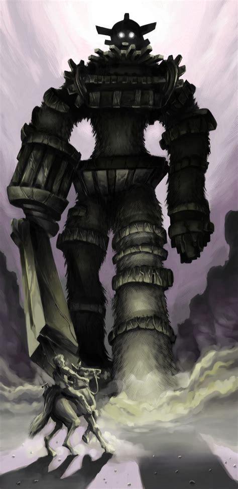 Shadow Of The Colossus Fan Art By Pickassoreborn