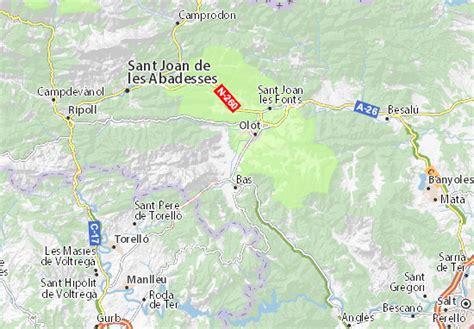 Mapa MICHELIN Les Preses - plano Les Preses - ViaMichelin