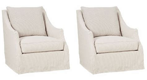 Accent Chair Slipcover Set Of 2 Giuliana Quot Designer Style Quot Swivel Slipcover Accent
