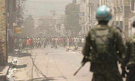 food riots grip haiti world news  guardian