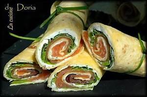 Recette Avec Tortillas Wraps : recette de wraps au saumon wraps au jambon ~ Melissatoandfro.com Idées de Décoration