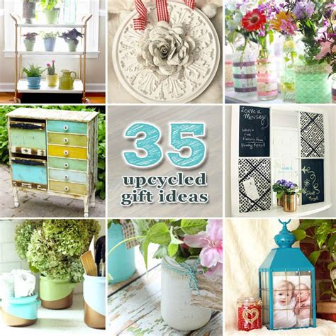 Home Decor Gift Ideas by 35 Upcycled Diy Gift Ideas