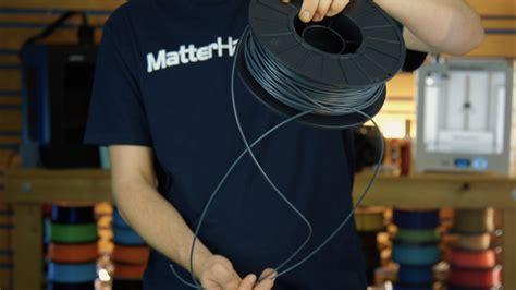 prevent  fix filament tangles matterhackers