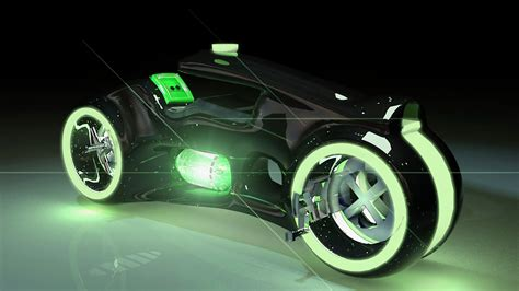 tron inspired bike 3D Model .max - CGTrader.com