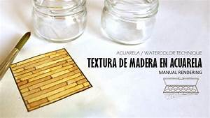 Textura De Madera En Acuarela Watercolor Wood Texture