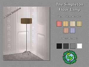 simpleton floor lamp teh sims With sims 2 floor lamp