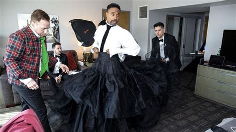 Getting Ready With Billy Porter For The Oscars
