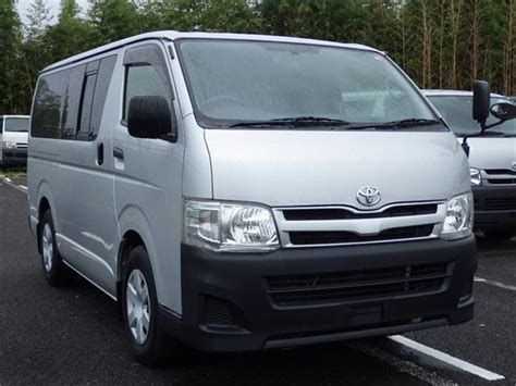 Toyota Hiace Usa by Toyota Hiace Dx Year 2011 Panel Vans Id
