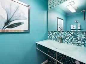 black and blue bathroom ideas photos hgtv