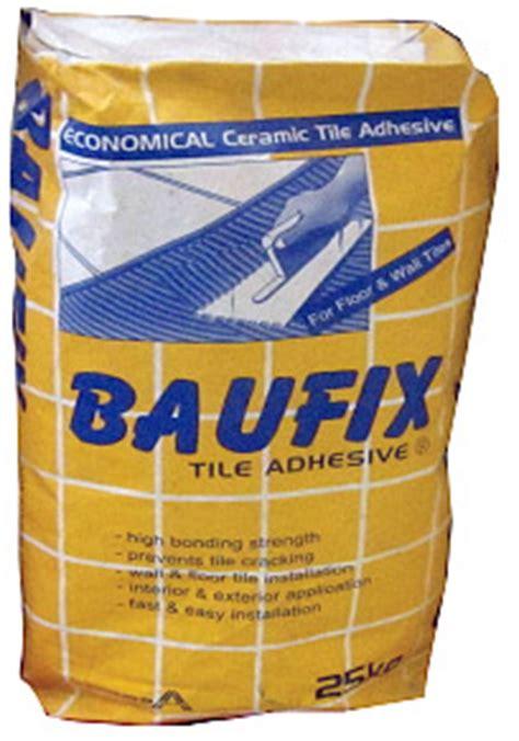 baufix tile adhesive kilos pick  pangasinan area