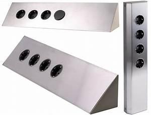 bild von steckdosen fur arbeitsplatte kuche eck With steckdosen für arbeitsplatte küche