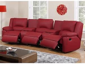 Canape Cuir Relax : canap 3 places et fauteuil relax cuir 3 coloris aroma ~ Teatrodelosmanantiales.com Idées de Décoration