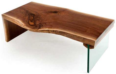 live wood coffee table modern coffee table natural wood live edge custom sizes