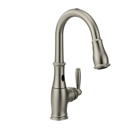 best moen kitchen faucet touchless kitchen faucets moen with motionsense technology