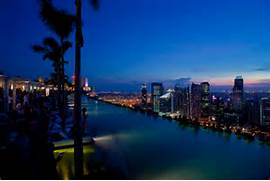 Singapore Hotel With Infinity Pool On Rooftop Image Marina Bay Sands Hotel Singapore