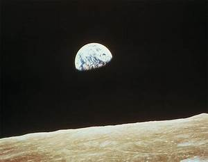 View of Earth From Moon - Pics about space