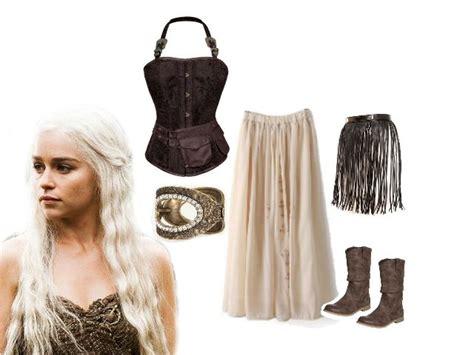 Disfraz Halloween De Daenerys Targaryen (juego De Tronos