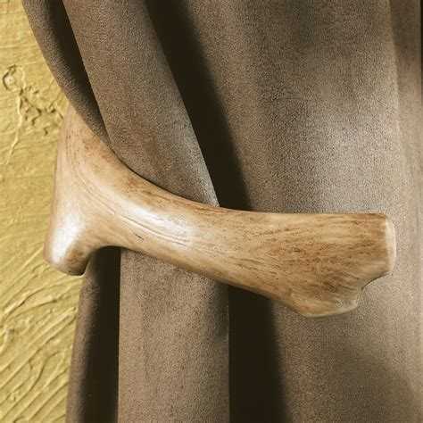 antler curtain tie backs antler furniture and accessories set of 2 antler curtain