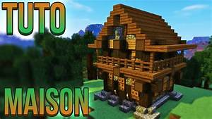 Video De Minecraft Maison : tuto belle maison minecraft youtube ~ Zukunftsfamilie.com Idées de Décoration