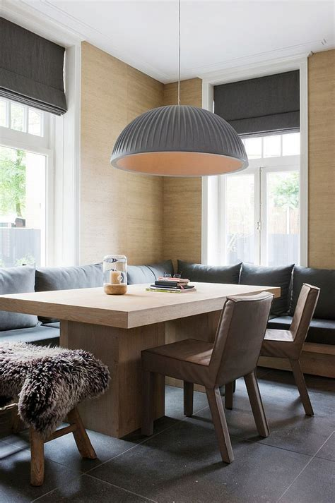 refined simplicity  banquette ideas