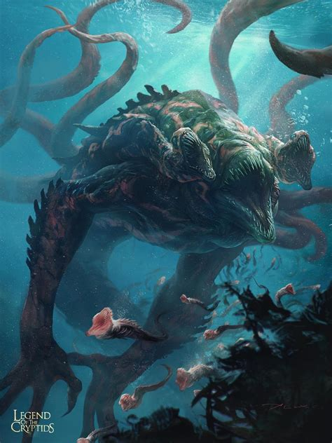 artstation sea creature ii aleksi briclot