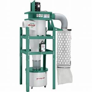 G0440 2 HP Cyclone Dust Collector NEW from Grizzly