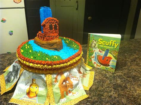 Tugboat Cake by Scuffy The Tugboat Cake Cakes Pinterest Cake And
