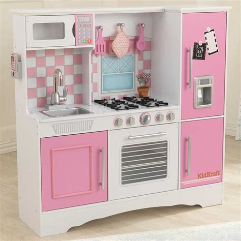 Kidkraft Wooden Culinary Kitchen In Three Colours Childs