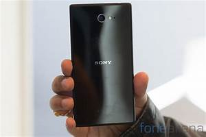 Sony Xperia M2 Hands On  Photo Gallery