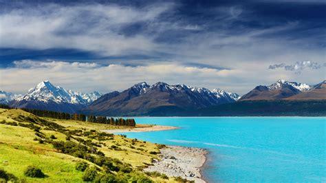 Wallpaper New Zealand, river, mountains, 5k, Nature #16207