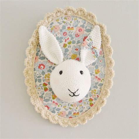 Idee Decoration Chambre Enfants Bebe Trophee Mural Crochet
