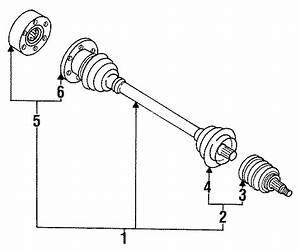 1988 Volkswagen Fox Cv Joint Boot Kit