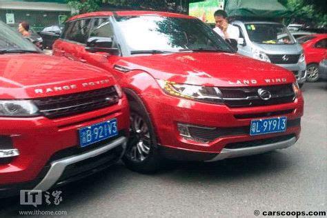 china kopie landwind   range rover evoque unfall