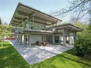 maison design appartement de luxe pas cher With photo maison toit plat 4 de maison originale avec piscine toit plat e4