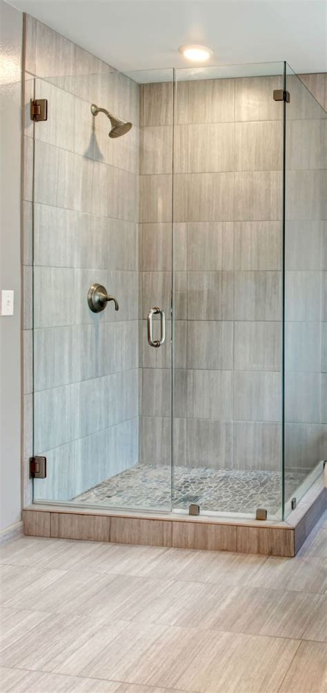 showers corner walk  shower ideas  simple small