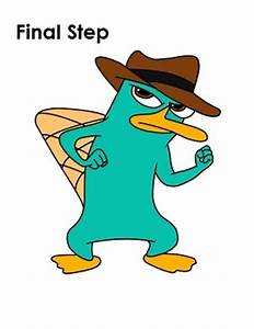 Perry Platypus Drawing at GetDrawings.com | Free for ...
