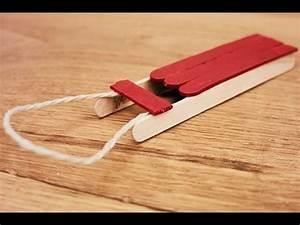 Faire Un Thé Glacé : bricolage la luge youtube ~ Dode.kayakingforconservation.com Idées de Décoration