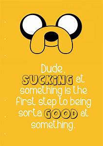 Filofax A5 - Jake The Dog quote from Adventure Tim by ...