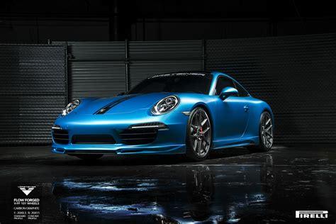 Porsche 911 Carrera S W Vorsteiner V Ff 101 Forged Wheels