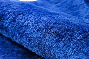 Teppich Hochflor Blau : hochflor shaggy teppich gentle luxus blau ultramarin ~ Indierocktalk.com Haus und Dekorationen