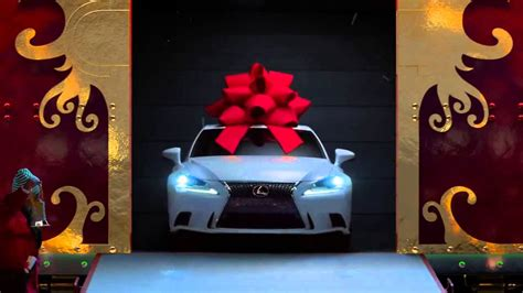 lexus christmas no reindeer just rails the lexus december to remember