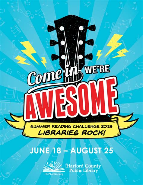 quot libraries rock quot is theme of harford county