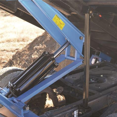 pierce arrow flatbed truck hoist kit 7 5 ton capacity