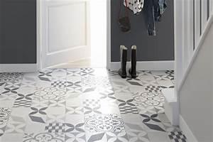 Carreaux De Ciment Adhesif Sol : un sol en vinyle carreaux de ciment ~ Premium-room.com Idées de Décoration