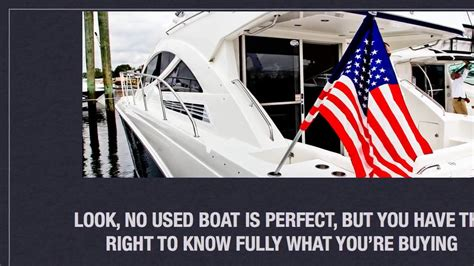 Used Boat Questions by Questions To Ask When Buying A Used Boat