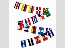 Latin American Flag Streamers Out of Stock